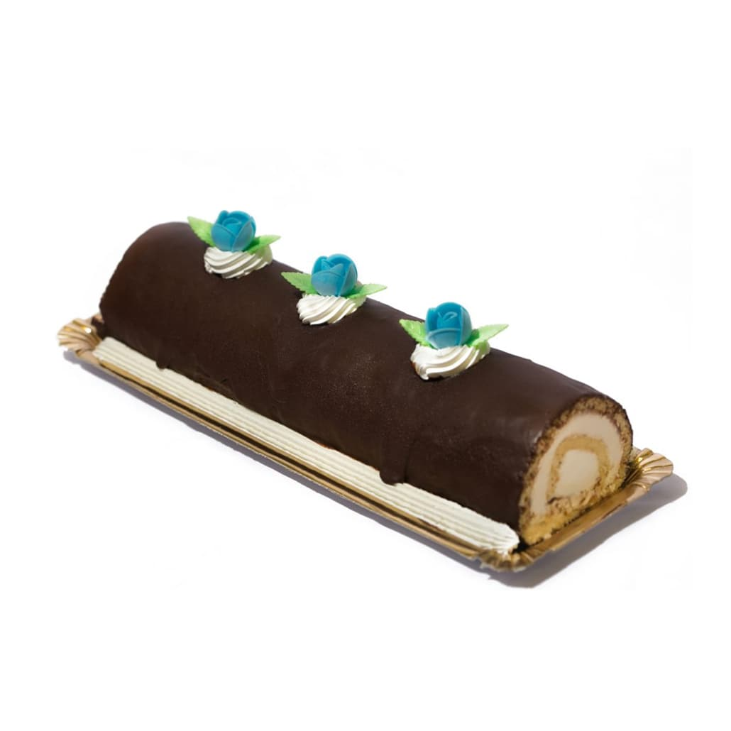 Tarta Brazo Gitano de Chocolate